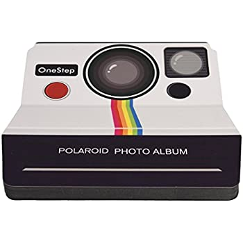 Polaroid Vintage Camera Scrapbook Photo Album For 2x3 Photo Paper Projects (Snap, Zip, Z2300)