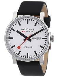 Mondaine Men's A132.30348.11SBB Analog Display Swiss Automatic Black Watch