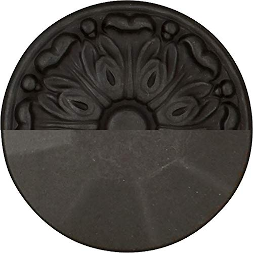 Hickory Hardware P3003-BI-25B Refined Rustic Collection Knob, 1-1/2 Inch Diameter, Black Iron, 25 Each by Hickory Hardware (Image #2)