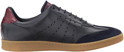 Ted Baker Mens Orlee Sneaker In Pelle Blu Scuro