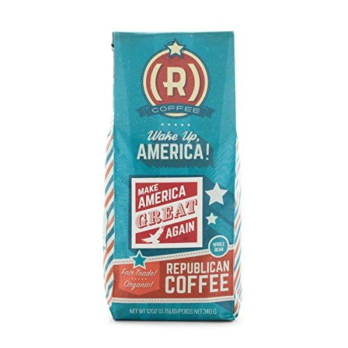 Make America Great Again Coffee by Republican Coffee   Great MAGA Gift for Conservatives and Republicans  Fair Trade   Ground 12oz