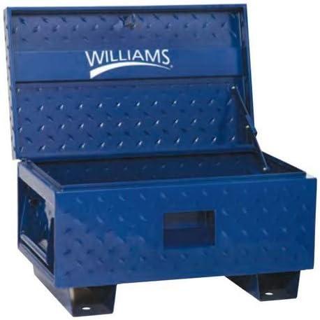 Williams 50950 Job Site Box, 32-Inch W X 19-Inch D X 17.5-Inch H, Blue