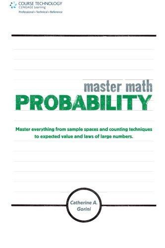 Master Math: Probability by Catherine A. Gorini (2011-03-21)