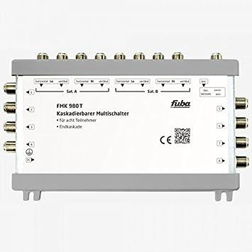 Fuba FMK Premium Sat Conmutador de señal satélite para grandes de redes de distribución, funciona en cascada, HDTV de, 4 K, 3d: Amazon.es: Electrónica