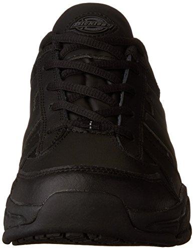 Dickies Mens Chaussures De Travail En Dentelle Athlétique Noir