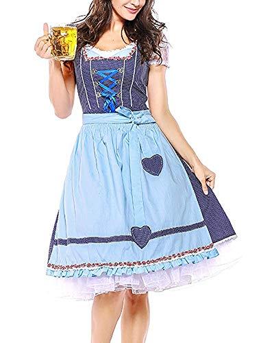 Prom Fuweiencore colore Dimensione E Dress Immagine 4 Abito Donna Immagine Come Abito Nastro Grembiule Xl Da Pezzi Dirndl Oktoberfest Camicia qT6wrqRYn