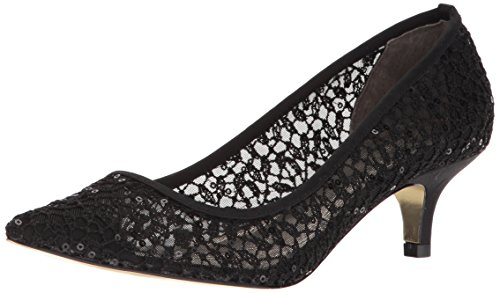 - Adrianna Papell Women's LOIS-LC Pump, Black Martinique lace, 8.5 M US