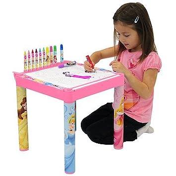 Coloriage Table Princesse.Disney Princess Table De Coloriage Amazon Fr Jeux Et Jouets