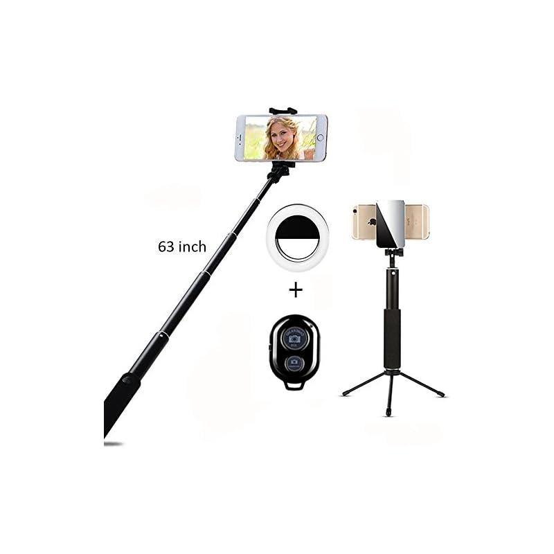 Selfie Stick Bluetooth, 1.6M Extendable