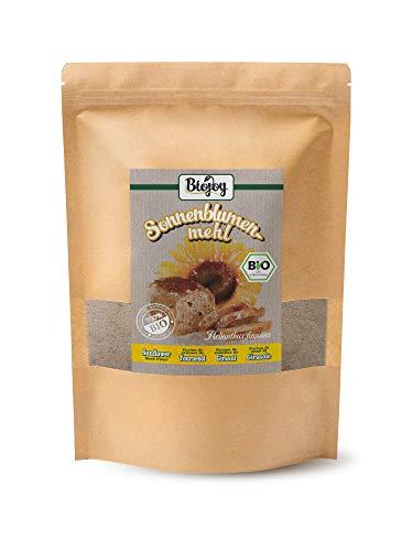 Biojoy BIO-zonnebloemmeel – gedeeltelijk ontolied, glutenvrij en koolhydraatarm (1 kg)
