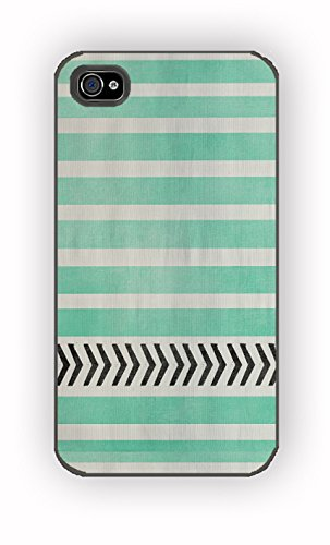 MINT STRIPES for iPhone 4/4S Case
