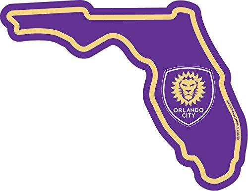 (MLS Orlando City SC Sticker in Florida - Die-Cut, Vinyl, All-Weather, Waterproof, Super Adhesive, Outdoor & Indoor Use Sticker.)