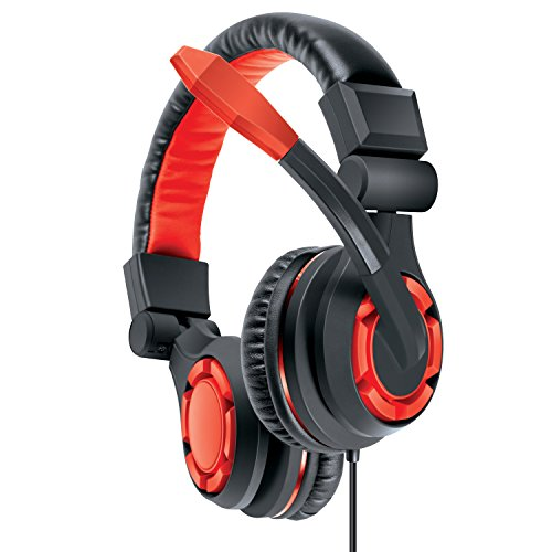 dreamGEAR: GRX 670 Universal Wired Gaming Headset - Amplified with Separate inline Controls for both Chat and Game Sounds for All Current Gaming Consoles, PC, and Smartphones ()