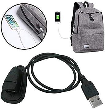 USB Prise Connexion pour Sac Dos Chargeur Mettable Tech