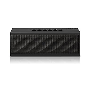 DKnight MagicBox II Bluetooth 4.0 Portable Wireless speaker, 10W Output Power with Enhanced Bass, Compatible with iPhone, iPad, Samsung and More (Black)