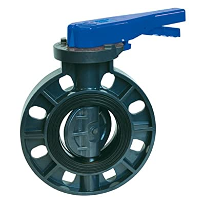 "3"" PVC Economy Butterfly Valve from Colonial Engineering"