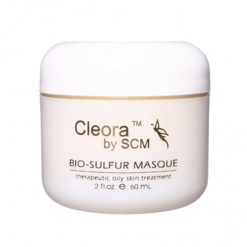 Cleora by SCM - Bio-Sulfur Masque - yellow-2fl.oz