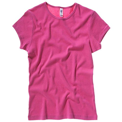 Bella Baby Rib Fashion Ladies T Shirt