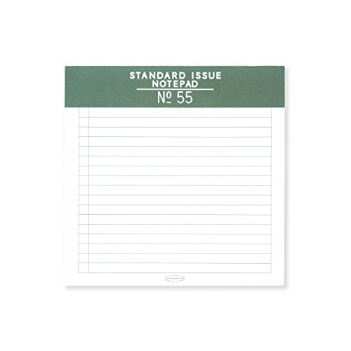 DesignWorks Ink Standard Issue Square Note Pad No. 55, Green