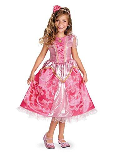 Aurora Sparkle Deluxe Child Costume - Medium