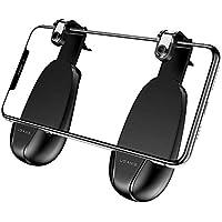 UPSTONE pubg Mobile Controller - Mobile Game Controller Triggers Joysticks, Ergonomic Design Handle Holder for 5.3-6.5 inch android & iOS Phones وحدات تحكم مصغرة
