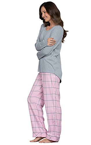 PajamaGram Womens Flannel Pajamas Sets - World s Softest Pajamas for Women 2060f762e