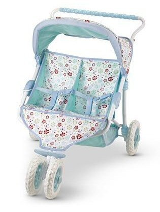 American Girl Bitty Baby Twin Stroller - 7