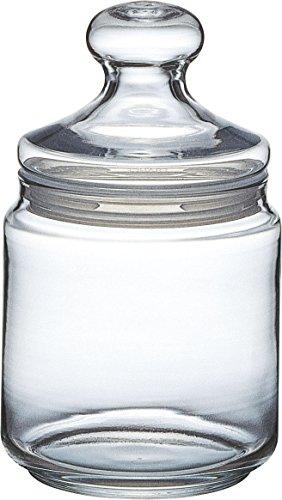 Luminarc Dose Pot Club mit Deckel 750ml, Vorratsglas, Bonbondose aus Glas, 1 Stück