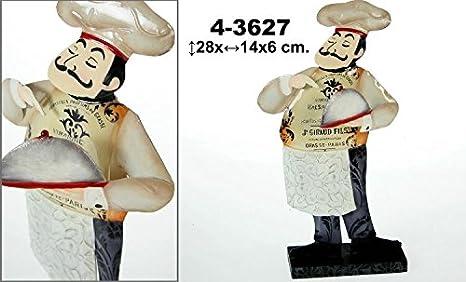 DONREGALOWEB Figura de un Chef de sobremesa Decorado con ...