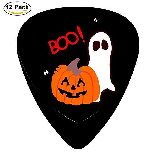 HANBINGPO Classic Halloween BOO Design Guitar Picks (12 -