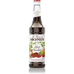 Monin Spicy Chocolate (Formerly Mayan Chocolate) Syrup 750ml Bottle