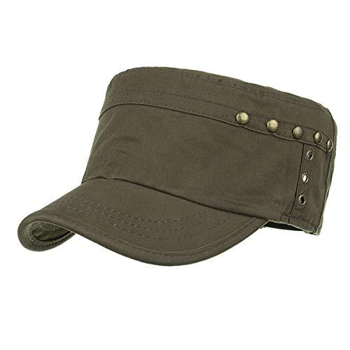 Gorra GLLH Hombres Aire qin para Militar Libre para Sombreros Sombrero hat Sombrero Informal Plano sombrillas al D E nRCUYRwq
