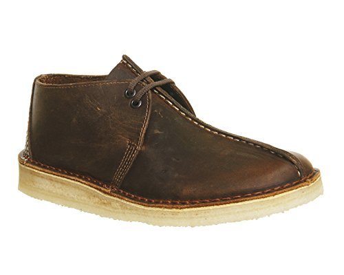 Clarks Originals Herren Desert Trek Derby Schnürhalbschuhe, Brown, 6 UK