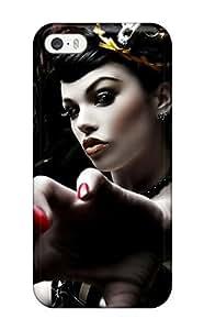 Hot Design Premium SVHOOOg2568LuctD Tpu Case Cover Iphone 5/5s Protection Case(artistic) wangjiang maoyi