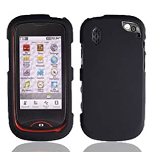 Pantech Cdm8992 / Hotshot Graphic Rubberized Protective Hard Case - Black