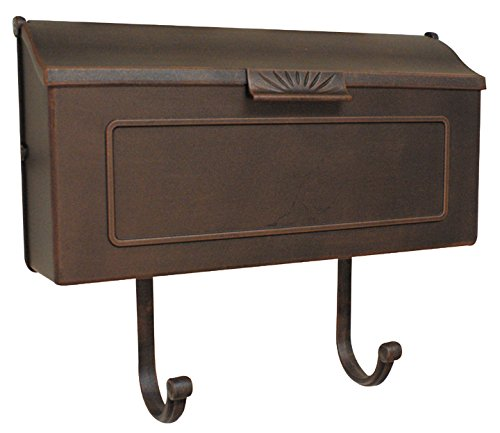 - Special Lite Products SHH-1006-CP Horizon Horizontal Mailbox, Copper
