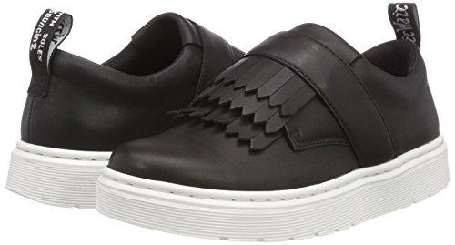 Eudora 001 black Dr Sneaker Martens Donna Infilare Nero 0FxATqw5