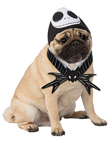 Rubie's Disney: Nightmare Before Christmas Costume Accessory for Pets, Jack Skellington, S/M]()