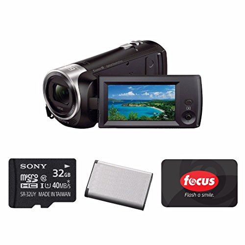 Sony HD Handycam Camcorder  with Sony 32GB Accessory Bundle