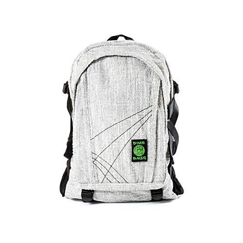 Original Hemp Backpack - Knapsack w/Smell Proof Pouch & Secret Pocket ()