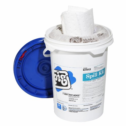New Pig KIT413 14 Piece Oil-Only Spill Kit in 6-1/2-Gallo...