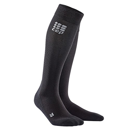 CEP Women's Recovery+ Merino Socks for Recovery, Size 2, Black