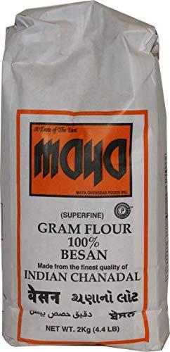 (Maya Superfine Gram Flour, 4.4 Pound (Pack of 8))