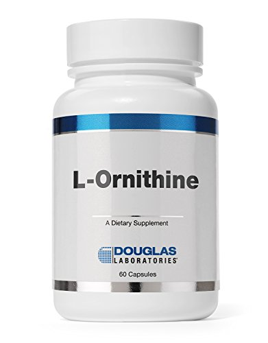 Douglas Laboratories - L-Ornithine - Supports Wound Healing, Hormones and Gastrointestinal Functioning* - 60 Capsules