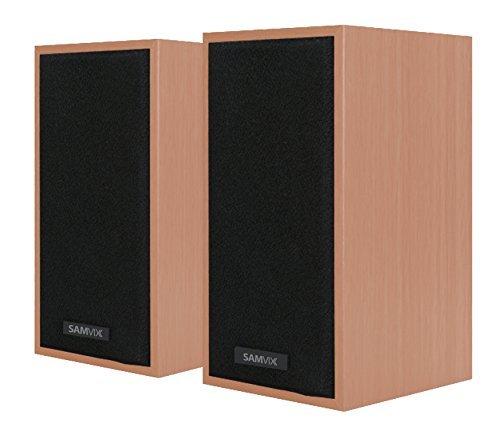 computadora de computadora altavoces samvix sp552, Multimedia graves potentes altavoces para PC con sonido estéreo para...