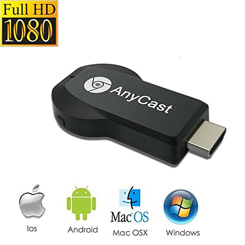 Acsurpo Wireless Wifi Display Dongle, Wireless HDMI Dongle, 1080P Screen Mirror dongle, Streaming Media Player Airplay Dongle Digital AV to HDMI Connector for IOS/Android/Windows/Projector/TV/MAC OSX