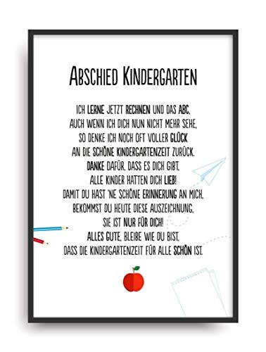 Text Abschied kindergarten