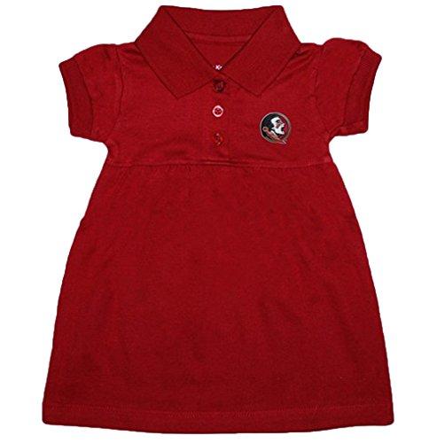 Creative Knitwear Florida State Seminoles NCAA Newborn Baby Two Piece Dress W/Bloomer (12 (Two Piece Bloomers)