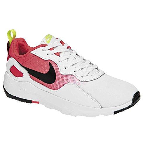 Nike Women's LD Long Distance Runner Running Tenis Shoes, White/Pink/Black, Size 7