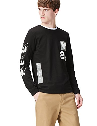 Amazon-Marke: find. Herren Pullover mit Mickey Comic-Print